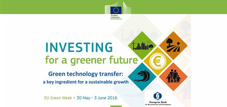 Evénement sur le transfert des technologies climatiques lors de l'édition 2016 de la semaine verte européenne